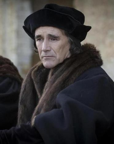 "Mark Rylance as Thomas Cromwell in ""Wolf Hall."""